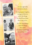 Friendship Photo Strip 5x7 Folded Card