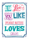 I Love You Like… 5x7 Folded Card