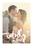 Totally In Love Lettering Overlay 5x7 Folded Card