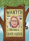 Wanted Sign with Photo 5x7 Folded Card