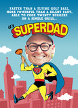 Superdad Photo Head 5x7 Folded Card