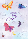 Scatter Joy Butterflies 5x7 Folded Card