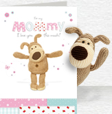 Boofle For Mommy card and plush 5x7 Folded Card