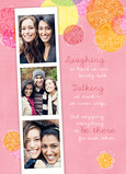 Friendship Photo-strip 5x7 Folded Card