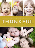 Blessed and Thankful - 4 Photos 5x7 Flat Card