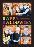 Happy Halloween - 5 Photos 5x7 Flat Card