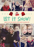 Let it Snow - Knit Hats 5x7 Flat Card