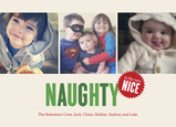 Naughty is the New Nice 7x5 Flat Card