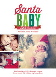 Introducing Santa Baby 5x7 Flat Card