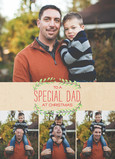 Special Dad 5x7 Folded Card