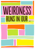 Weird Friends 5x7 Folded Card