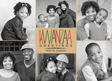 Kwanzaa Greetings 7x5 Flat Card