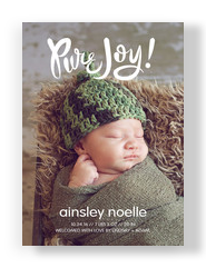 Pure Joy Overlay 5x7 Flat Card