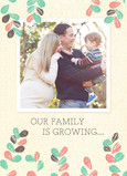 Growing Family 5x7 Folded Card
