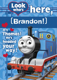 Thomas the Tank Valentine 5x7 Folded Card