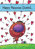 Passover Love 5x7 Folded Card