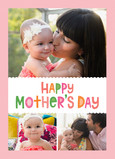 Colorful Mother's Day Wish 5x7 Folded Card