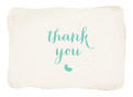 Belly Bean Thank You - Blue 5.25x3.75 Folded Card