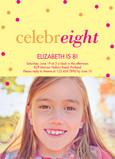 CelebrEIGHT 5x7 Flat Card