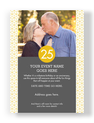 Milestone Photo Invitation 5x7 Flat Card