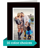 Color Frame - Vertical 5x7 Folded Card
