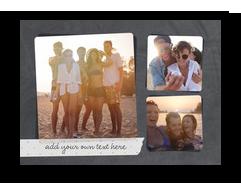 Washi Tape on Chalkboard - Postcard 7x5 Postcard