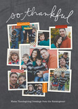 Thankful Photo Collage 5x7 Flat Card