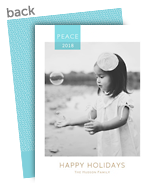 Peace 2017 5x7 Flat Card