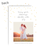 Sparkle with Joy 5x7 Flat Card