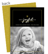 A Joyful Noise 5x7 Flat Card