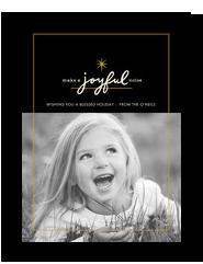 A Joyful Noise 5x7 Flat Card