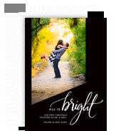 All is Bright 5x7 Flat Card