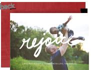 Rejoice - Overlay 7x5 Flat Card