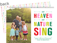 Heaven and Nature Sing 7x5 Flat Card