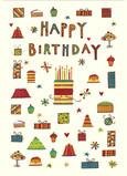 Birthday Fun 5x7 Folded Card