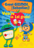 Umizoomi Back-to-school 5x7 Folded Card