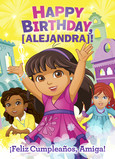 Dora - Birthday 5x7 Folded Card