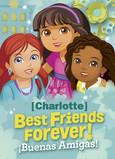 Dora - Best Friends 5x7 Folded Card