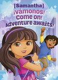 Dora - Back-to-school 5x7 Folded Card