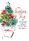 Laughter and Love 5x7 Folded Card