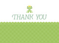 Frog Thank You 5.25x3.75 Folded Card