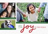 Joyful Christmas Postcard 7x5 Postcard