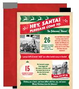 Hey, Santa! 5x7 Flat Card