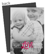 Happy Love Day! 5x7 Flat Card