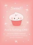 Sweet Cupcake 5x7 Flat Card
