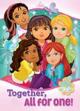 Dora with Friends 5x7 Folded Card