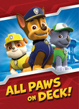 Paw Patrol - Chase, Rubble, Rocky 5x7 Folded Card