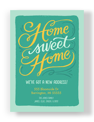 Home Sweet Home 5x7 Flat Card