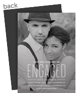 Engaged Overlay 5x7 Flat Card