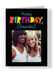 make and send personalized birthday cards from cardstore, Birthday card